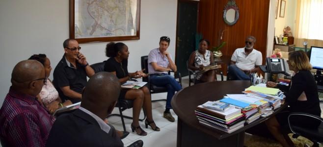 Visite protocolaire de la Fédération Autonome des Parents d'Élevés et Étudiants de Guyane