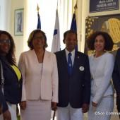 Visite de courtoisie du Lions Clubs International, district 63 Antilles et Guyane Française