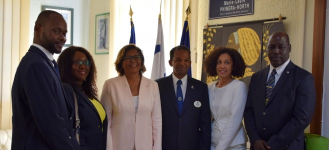 Visite de courtoisie du Lions Clubs International, district 63 Antilles et Guyane Française