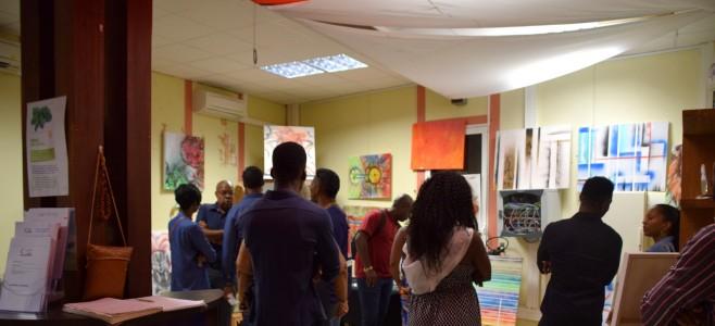Vernissage de l'artiste MALCOM à l'Office de Tourisme de Cayenne