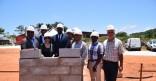 Pose de la 1ère pierre – Bâtiment de l'administration de l'université de Guyane