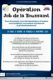 Opéaration Job de la Toussaint