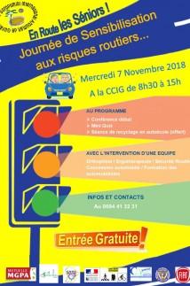Journée de Sensbilisation aux risques routiers
