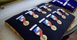 Cérémonie de remise de la médaille de la sécurité intérieure a 10 agent de la police de la Ville de Cayenne