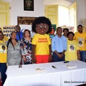 Signature de la convention de mise à disposition de «Mouché Déboulé»