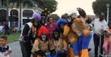 Défilé carnavalesque dans les rues