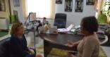 Visite de Madame Sylene SERAPHIN responsable administrative et financière de l'association « Kevin SERAPHIN »