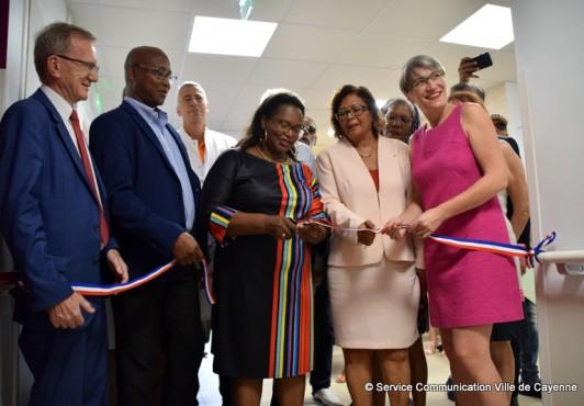 Inauguration des nouveaux services
