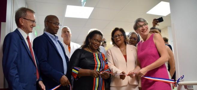 Inauguration des nouveaux services du Centre Hospitalier de Cayenne