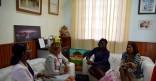Visite de courtoisie de Genia J.LANK CORINDE, Consul Général de la République du Suriname en Guyane