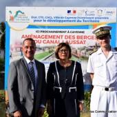 Lancement des travaux d'aménagement des berges du CANAL LAUSSAT