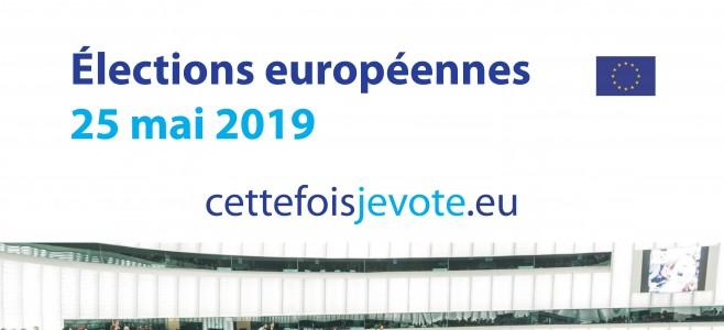 Élections Européennes – 25 mai 2019