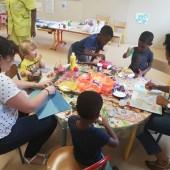 Decopatch : l'atelier enfants-parents du Jardin D'enfants du mois d'avril