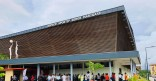 Inauguration de l'espace sportif municipal de Cayenne « Serge MARIGARD