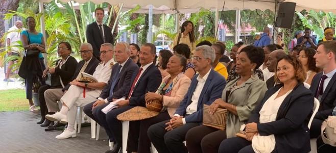 Commémoration de l'abolition de l'esclavage au jardin botanique de Cayenne