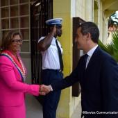 Visite du Ministre de l'action et des comptes publics M. Gérald DARMANIN