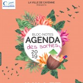 Bloc-notes agenda des sorties 2019