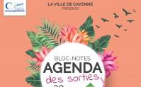 Bloc-notes agenda des sorties 2019