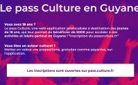 Le pass Culture en Guyane