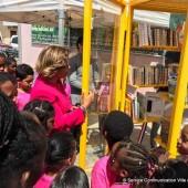 Inauguration de la 4ème bibliothèque en libre-service