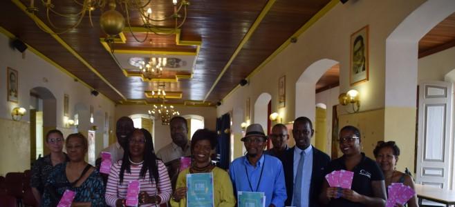 Présentation du programme du mois de la ville en conférence de presse dans les salons de l'hôtel de ville