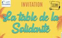 La table de la solidarité
