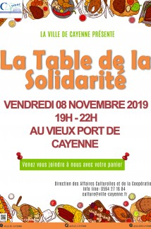 La Table de la Solidarité