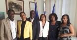 Rencontre protocolaire avec l'ambassadrice aux affaires de la Diaspora de Sainte-Lucie