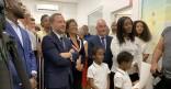 Inauguration crèche les Pious-Pious de la Crique