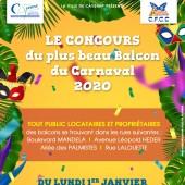 Concours du plus beau balcon du Carnaval 2020