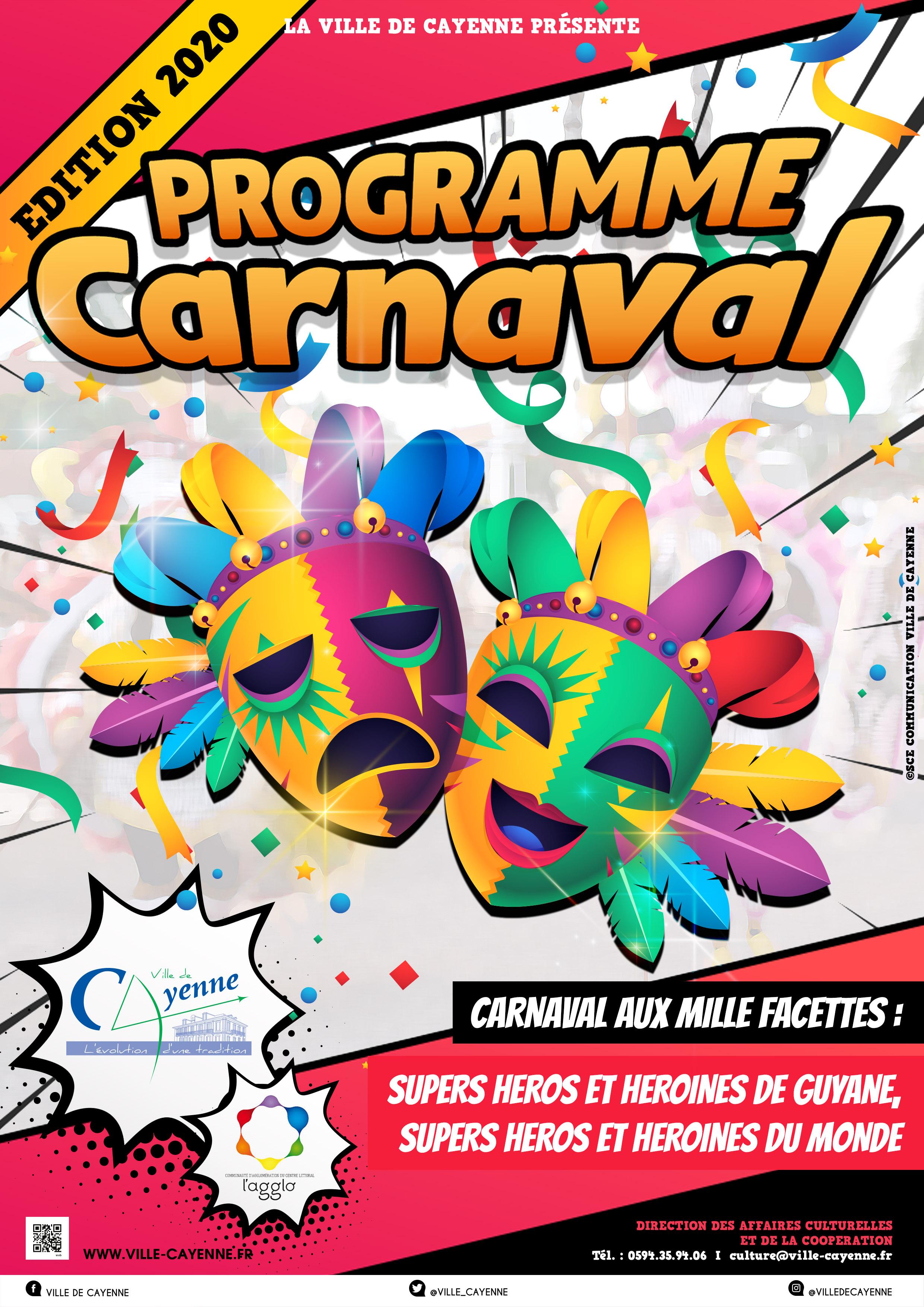 Programme Carnaval