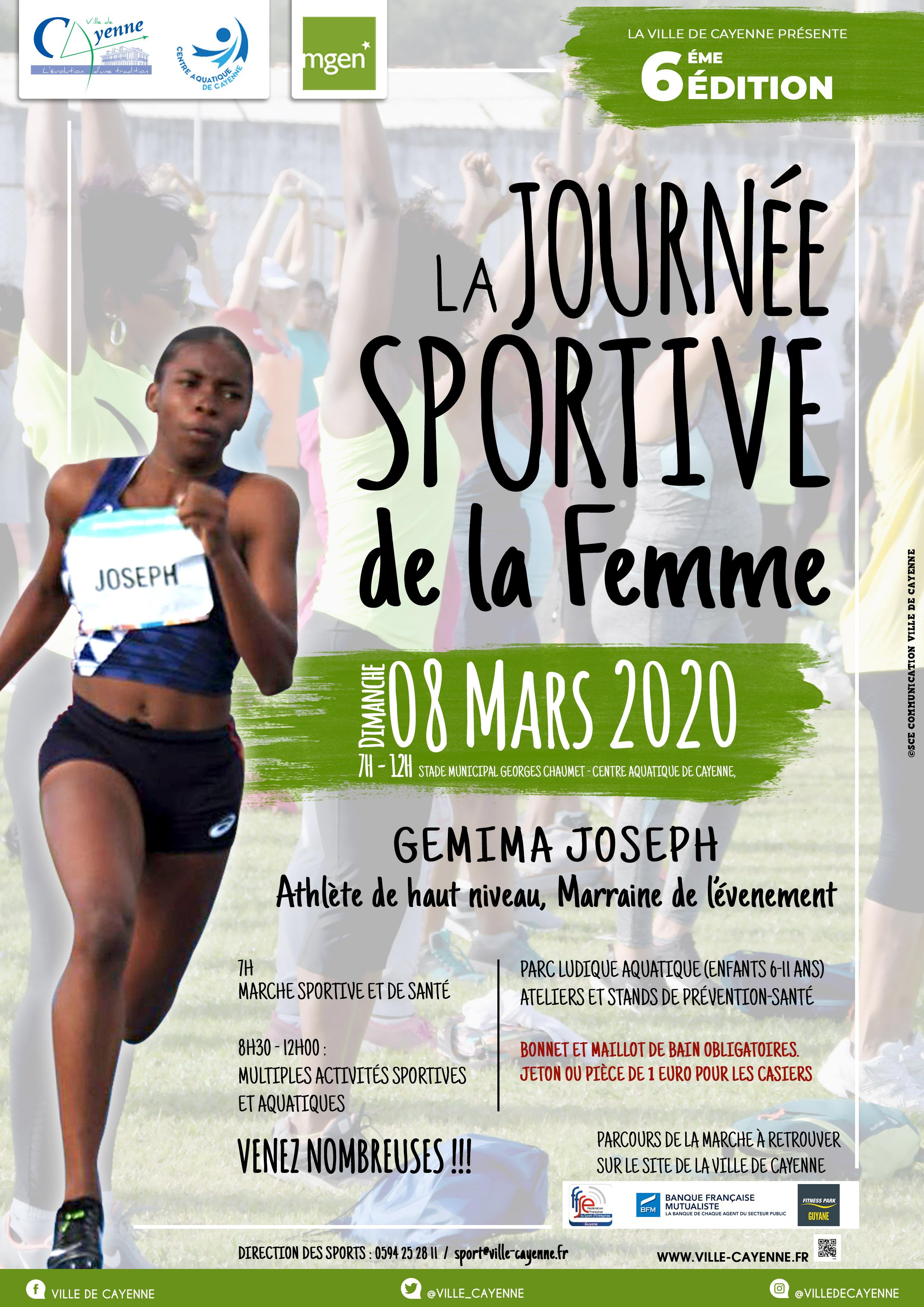La journéee sportive de la femme