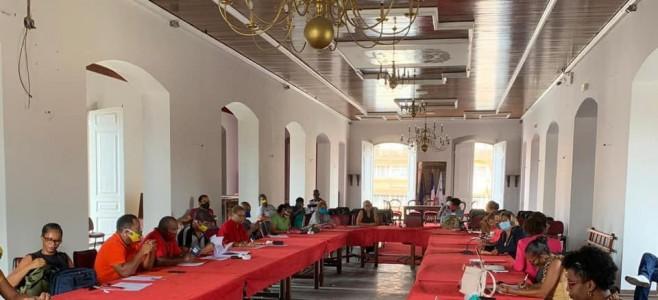 Séance extraordinaire du CHSCT de la ville de Cayenne – Covid-19