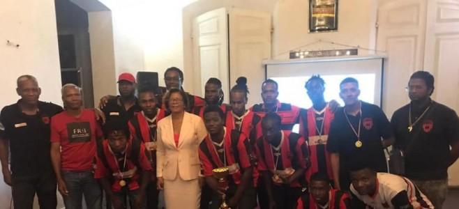 Bravo à l'Olympique de Cayenne, champion de Guyane