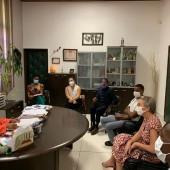 COVID-19 : le Maire de la ville de Cayenne rencontre la directrice générale de l'ARSCOVID-19 : le Maire de la ville de Cayenne rencontre la directrice générale de l'ARS