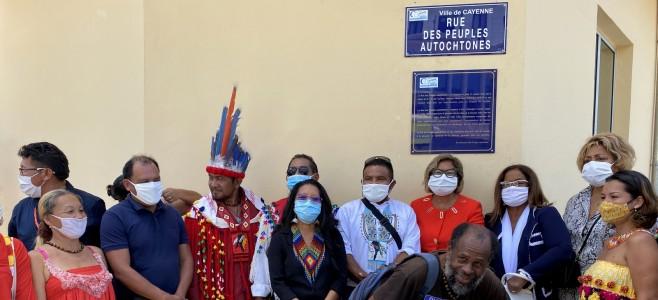 Dénomination de la rue Christophe Colomb à Cayenne