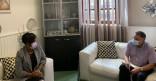 Ville de Cayenne : entretien protocolaire avec le bationner Patrick Lingibe