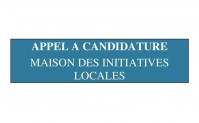 Appel à candidature – Maison des Initiatives Locales