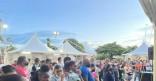 «JAZZ ÒBÔ KAZ» sur la Place des Amandiers
