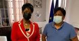 Le Maire de Cayenne rencontre le Maire de Camopi