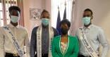 Le Maire a reçu le tout nouveau Mister Universel Guyane