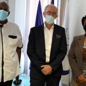 Justice : Entretien protocolaire avec le Président du Tribunal Administrative de la Guyane