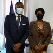 Diplomatie : Le Maire de Cayenne s'entretient avec le Chef de poste du Consulat de la République d'Haïti en Guyane