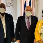 Justice : Le Maire de Cayenne rencontre le nouveau procureur général « près » de la cour d'appel de Cayenne